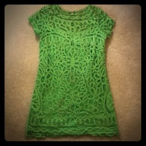 Lily Pulitzer Lime Green Lace Dress